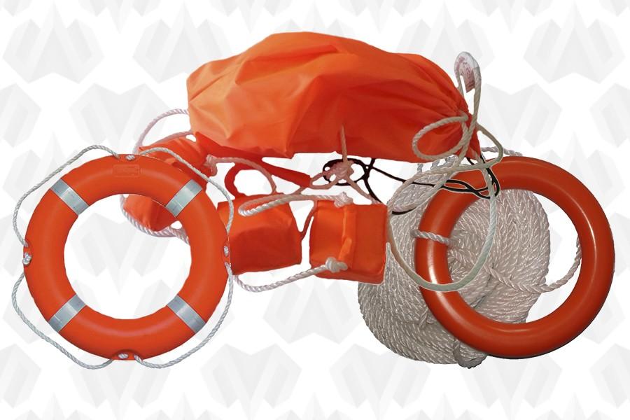 Спасательные круги, концы и сопутствующие товары