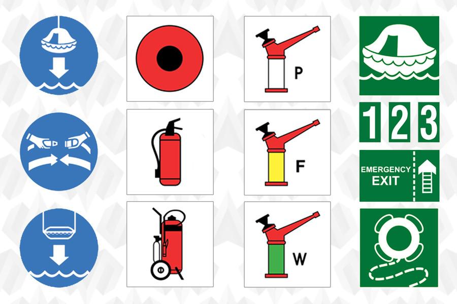 Знаки и символы ИМО