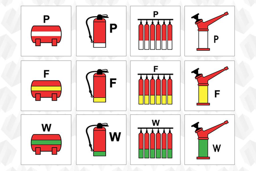 Новые противопожарные знаки и символы ИМО