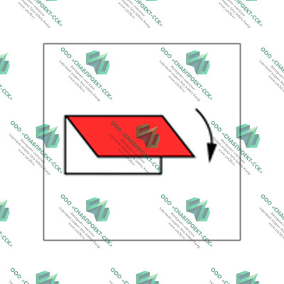 Заслонка приемных и выпускных отверстий вентиляции