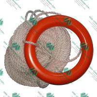 Кольцо плавучее спасательное с линем 30м